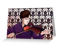 Sonata for Solo Violin No.1 in G Minor Greeting Card