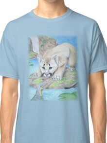 Baby Cougar with Alligator Classic T-Shirt