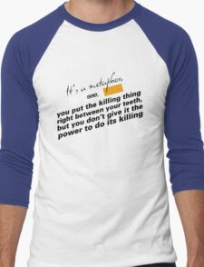 The Fault in Our Stars | It's a Metaphor Men's Baseball ¾ T-Shirt