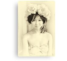 Baan Thai Girl Canvas Print