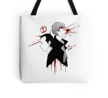 BBC Sherlock - The Reichenbach Fall Tote Bag