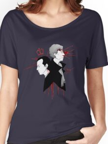 BBC Sherlock - The Reichenbach Fall Women's Relaxed Fit T-Shirt