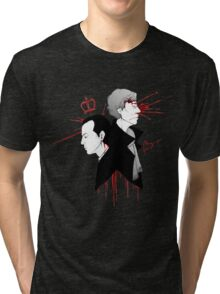 BBC Sherlock - The Reichenbach Fall Tri-blend T-Shirt