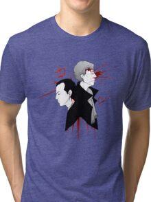 BBC Sherlock - The Reichenbach Fall Tri-blend T-Shirt