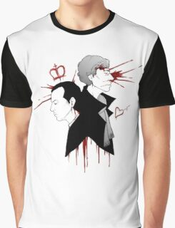 BBC Sherlock - The Reichenbach Fall Graphic T-Shirt