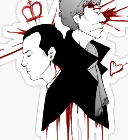 BBC Sherlock - The Reichenbach Fall Sticker