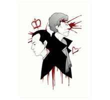 BBC Sherlock - The Reichenbach Fall Art Print