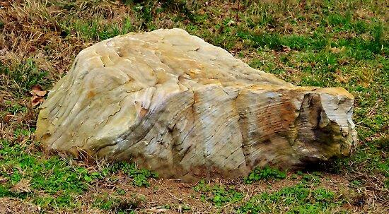 Chiseled Rock by Scott Mitchell
