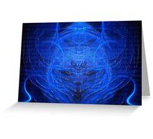 ©NLE-DA Alien Of Light Avatar Greeting Card