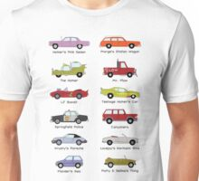 Simpsons Cars Unisex T-Shirt