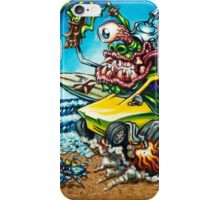 Surfite Summer by BigToe iPhone Case/Skin