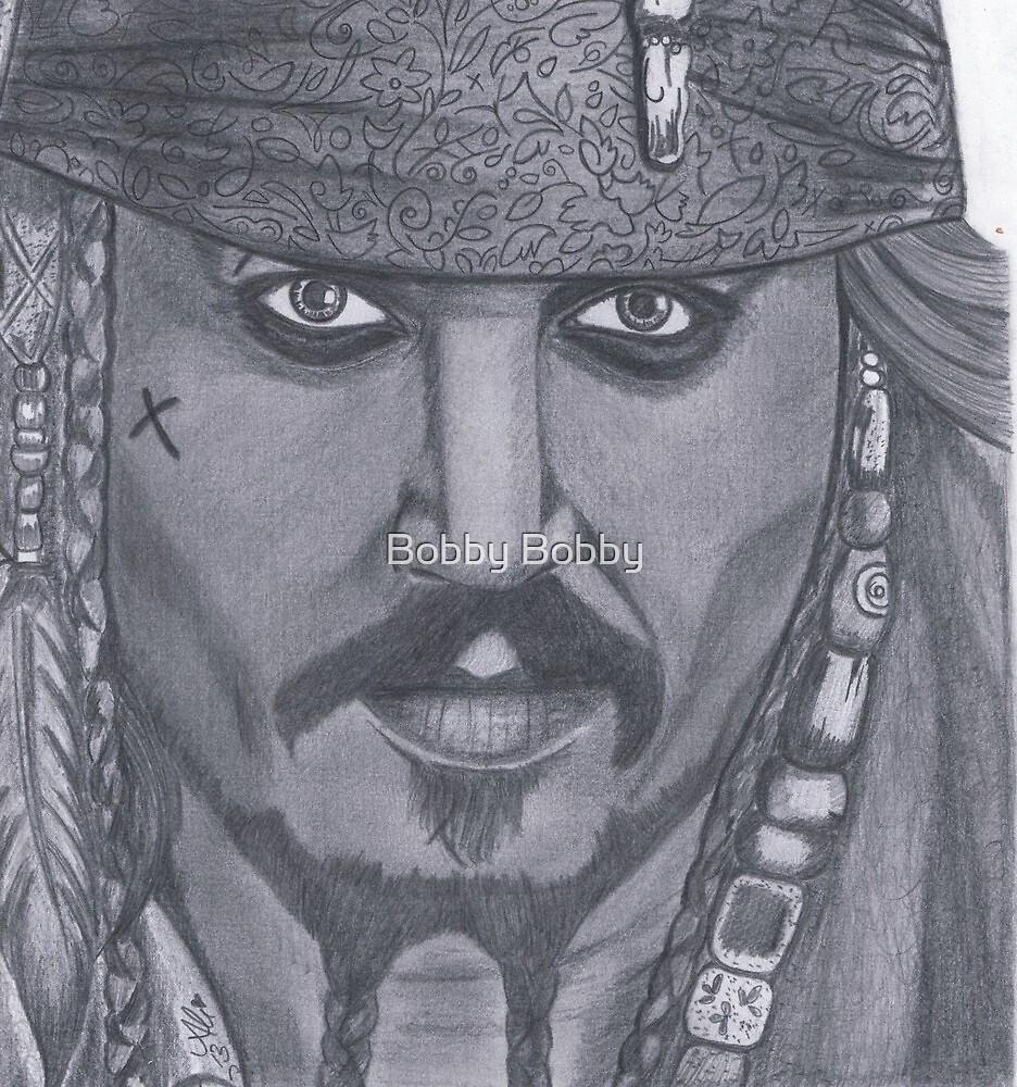 Johnny Depp by Bobby Dar
