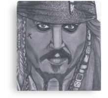Johnny Depp Canvas Print