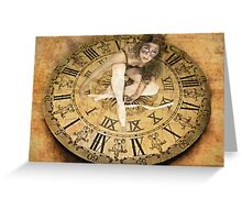 Carnival of Time Greeting Card