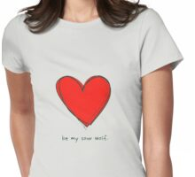 Be My Sour Wolf - Sterek / Teen Wolf  Womens Fitted T-Shirt