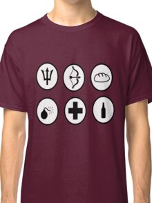Hunger Games Character Icons Classic T-Shirt
