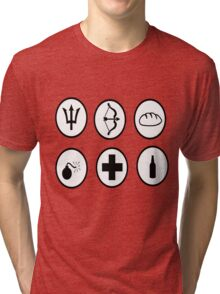Hunger Games Character Icons Tri-blend T-Shirt