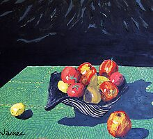 Acrylic STILL LIFE by James Lewis Hamilton