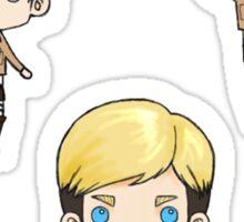 Levi, Erwin, Hanji Sticker