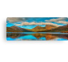 Cradle in Fagus - Cradle Mountain , Tasmania Australia - The HDR Experience Canvas Print