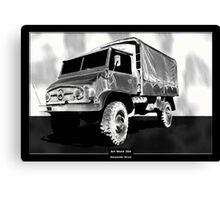 Art Work 204 Mercedes Unimog Canvas Print