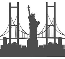 NYC Cityscape by sketch-uswnt