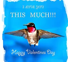 Valentines Day I love you this much by Randy & Kay Branham