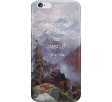 The Mountains Are Calling iPhone Case/Skin