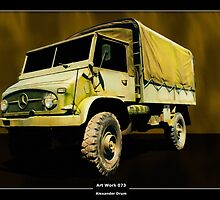 Art Work 073 Mercedes Unimog by Alexander Drum