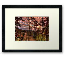 Westridge skies Framed Print