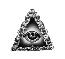 illuminati eye by gleviosa