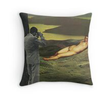 Classic encounter  Throw Pillow