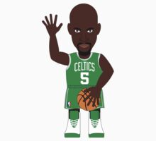 NBAToon of Kevin Garnett, player of Boston Celtics by D4RK0