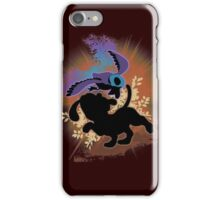 Super Smash Bros. Black Duck Hunt Silhouette iPhone Case/Skin