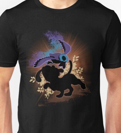Super Smash Bros. Black Duck Hunt Silhouette Unisex T-Shirt