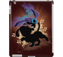 Super Smash Bros. Black Duck Hunt Silhouette iPad Case/Skin