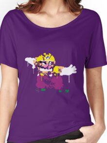 Wario Paint Women's Relaxed Fit T-Shirt