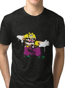 Wario Paint Tri-blend T-Shirt