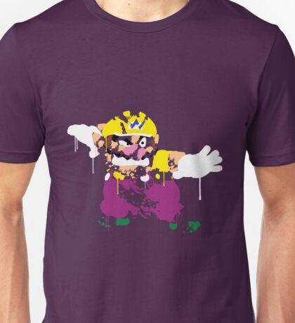 Wario Paint Unisex T-Shirt