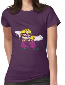 Wario Paint Womens Fitted T-Shirt
