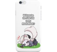 League of Legends - Will you be the Sunsun to my Moonmoon? iPhone Case/Skin