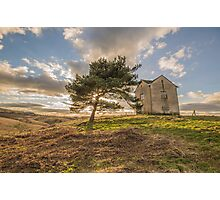 House on a Hill Photographic Print