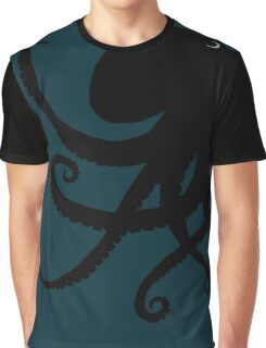 Octopus Silhouette Graphic T-Shirt