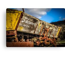 Old Seeder Canvas Print