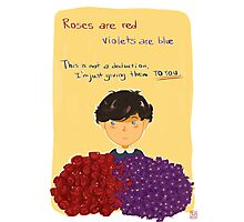 Friendly love Valentine #1 Photographic Print