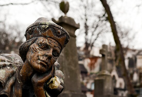 Montmartre cemetery - Tombstone of Vaslav Nijinsky by Aleksandar Topalovic