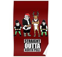 SANTA  SWEATER- Ugly Christmas- Santa Ugly christmas sweat Poster
