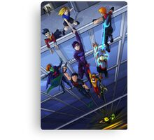 Save the Heroes Canvas Print