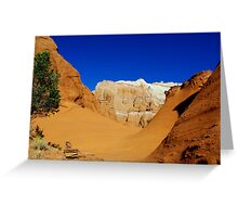 Kodachrome rocks, Utah Greeting Card