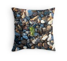 See weed Pebbly Seaweed Throw Pillow